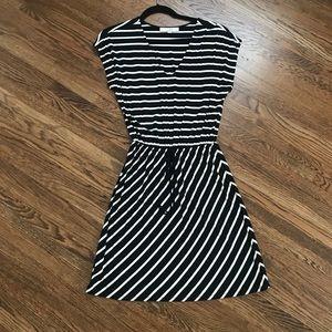 Like New! Loft Comfy Striped T-shirt Dress